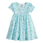 Toddler Girl Jumping Beans® Print Babydoll Dress