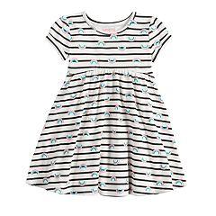 Toddler Girl Jumping Beans® Print Babydoll Dress