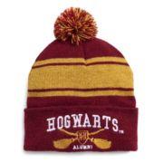 Women's Harry Potter Striped Hogwarts Varsity Knit Beanie