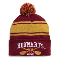 Women's Harry Potter Striped Hogwarts Varsity Knit Beanie