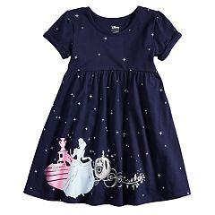 Disney's Cinderella Toddler Girl Babydoll Dress by Jumping Beans®