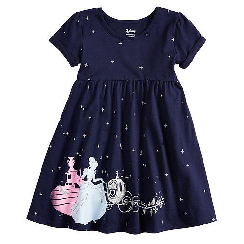 09e4505b Disney's Cinderella Toddler Girl Babydoll Dress by Jumping Beans®