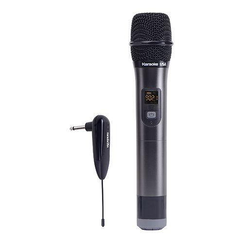 Karaoke USA 900 MHz UHF Wireless Microphone