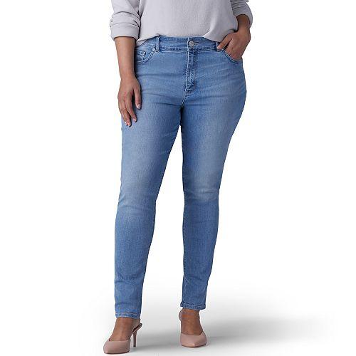 Plus Size Lee Sculpting Mid-Rise Skinny Pants