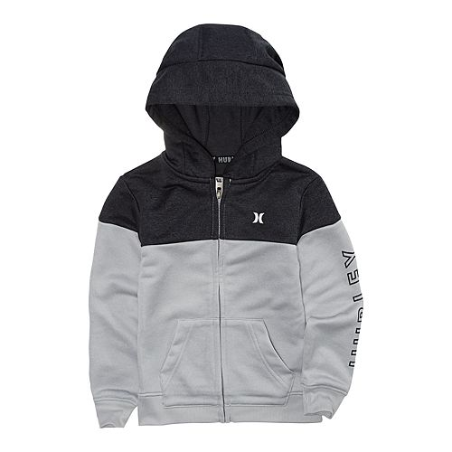Toddler Boy Hurley Dri-FIT Solar Zip Hoodie