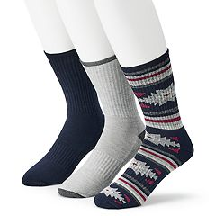 Men's Born 3-pack Performance Boot Socks