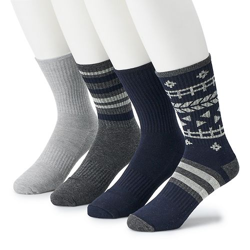 Men's Born 4-pack Performance Boot Socks