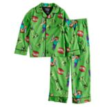 Boys 6-12 Minecraft TNT 2-Piece Pajama Set