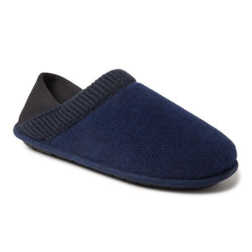 Men's Dearfoams Felted Closed Back Slippers
