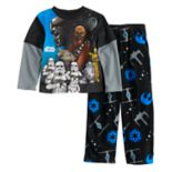 Boys 6-12 Star Wars Empire Fleece 2-Piece Pajama Set