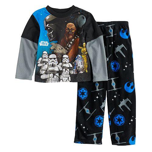 Boys 6-12 Star Wars Empire Fleece 2-Piece Pajama Set