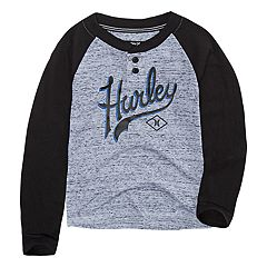 Toddler Boy Hurley Henley Top