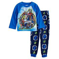 Boys 6-12 Avengers 2-Piece Fleece Pajama Set