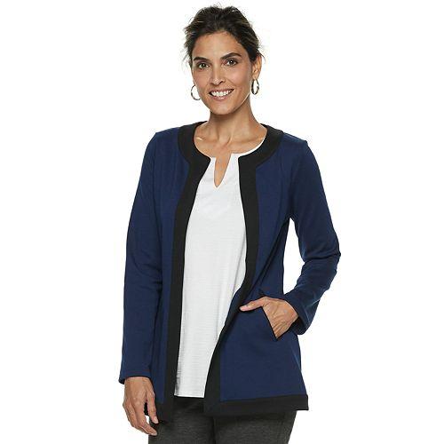 Women's Dana Buchman Colorblock Ponte Jacket