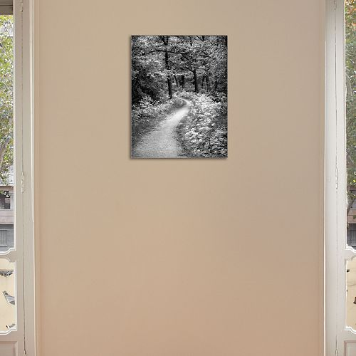 "New View Winding Path 11"" x 14"" Canvas Wall Art"
