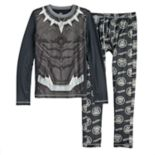 Boys 4-18 Cuddl Duds Black Panther 2-Piece ClimateSmart Baselayer Set