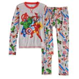 Boys 4-18 Cuddl Duds Avengers ClimateSmart 2-Piece Baselayer Set