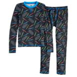 Boys 4-18 Cuddl Duds Star War ClimateSmart 2-Piece Baselayer Set
