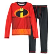 Boys 4-18 Cuddl Duds Disney / Pixar The Incredibles ClimateSmart 2-Piece Baselayer Set