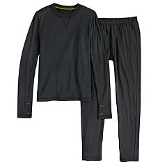 Boys 4-18 Cuddl Duds Printed ClimateSmart 2-Piece Baselayer Set