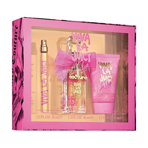 Juicy Couture Viva La Juicy La Fleur Women's 3-Piece Set ($80 Value)