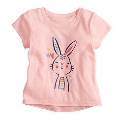 Baby Girl Jumping Beans® Short-Sleeve Graphic Tee