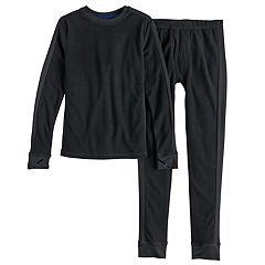 Boys 4-18 Cuddl Duds Microfleece 2-Piece Baselayer Set