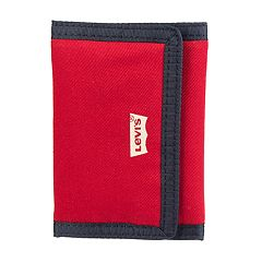 Men's Levi's Fabric Trifold Wallet