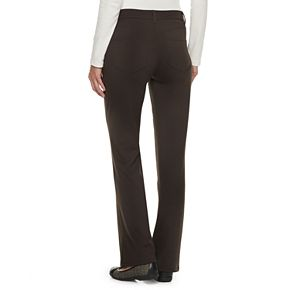 Women's Croft & Barrow® Easy Care Bootcut Pants