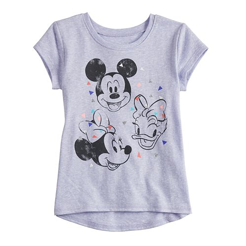 Disney's Mickey Mouse, Minnie Mouse & Daisy Duck Baby Girl Short-Sleeve Graphic Tee by Jumping Beans®