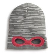 Girls 4-6x Igloos Super Hero Eye Hole Slouch Hat
