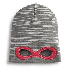 Girls 4-6x Igloos Super Hero Eye Hole Slouch Hat