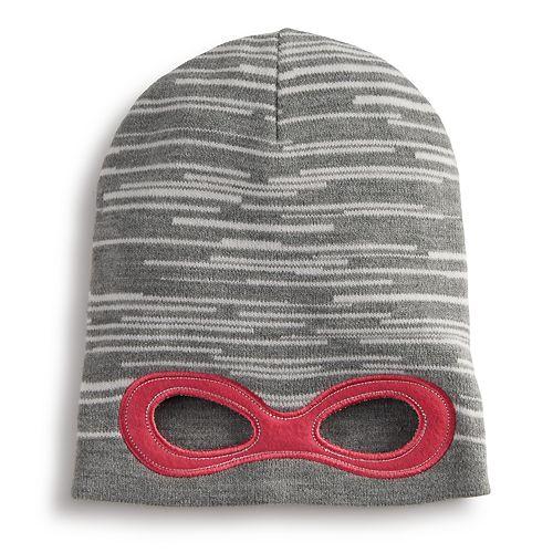 efb597f682c Girls 4-6x Igloos Super Hero Eye Hole Slouch Hat