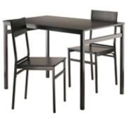 Winsome Milton Dining Table & Chairs 3-piece Set