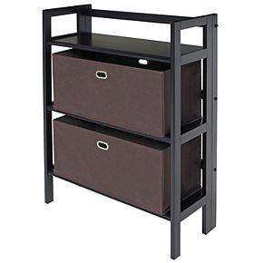 Winsome Torino Storage Cabinet & Baskets 3-piece Set