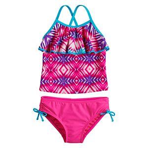57060d2674 Baby Girl Kiko   Max Purple Toucan Tankini   Bottoms Swimsuit Set. Sale