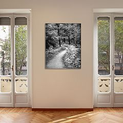 New View Winding Path 22' x 28' Canvas Wall Art