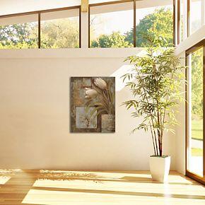 "New View Tulip Interlude I 16"" x 20"" Canvas Wall Art"