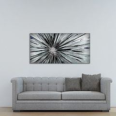 New View Staccato Burst Canvas Wall Art