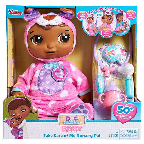 Disney's Doc McStuffins Take Care of Me Nursey Pal