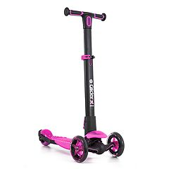 Yvolution Y-Glider XL Deluxe 4.0 Scooter- Pink