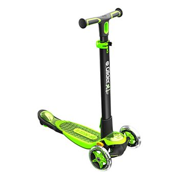 Yvolution Y Glider Xl Deluxe 4 0 Scooter Green