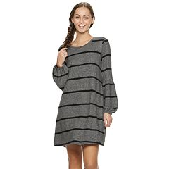 Juniors' Lily Rose Striped Dress