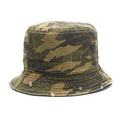 Women's Camo Bucket Hat