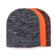 Men's MUK LUKS 3-Pack Beanie Hat Set
