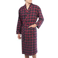 e602a97d95a1 Big & Tall Residence Flannel Robe