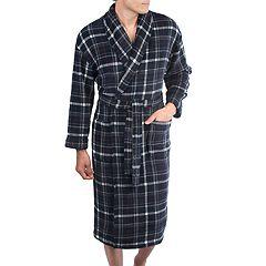Big and Tall Residence Plush Fleece Shawl-Collar Robe