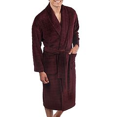 Big and Tall Residence Plush Fleece Shawl-Collar Robe