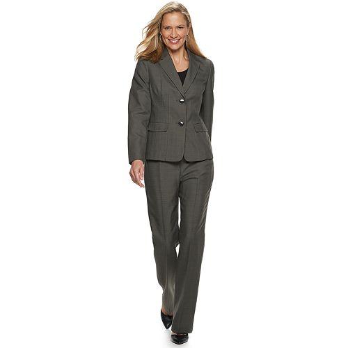 Women's Le Suit 2-Button Shawl Collar Pant Suit
