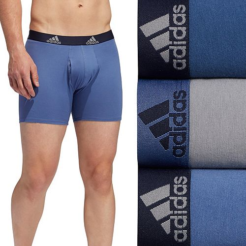 Men's adidas 3-pack Cotton Stretch Boxer Briefs